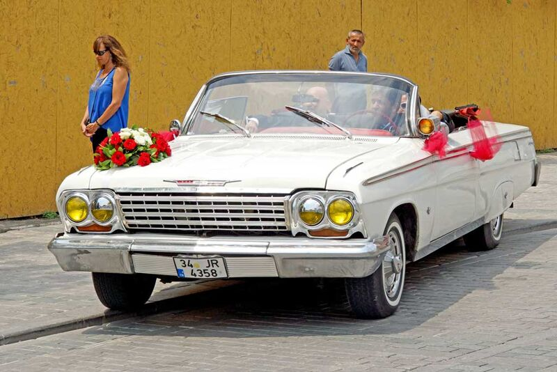 turkish wedding car