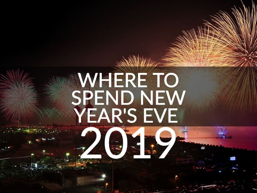 where to spend new years eve 2019