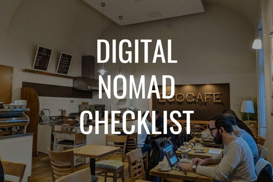 Digital Nomad Checklist 2019