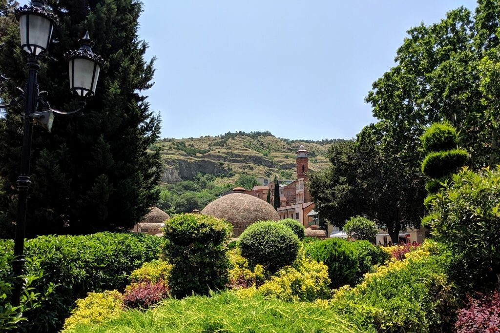 Tbilisi thermal baths and gardens