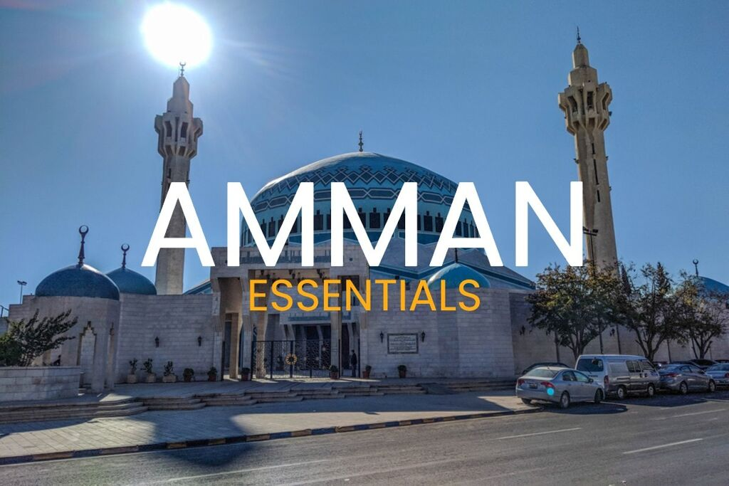 Amman's King Hussein Mosque