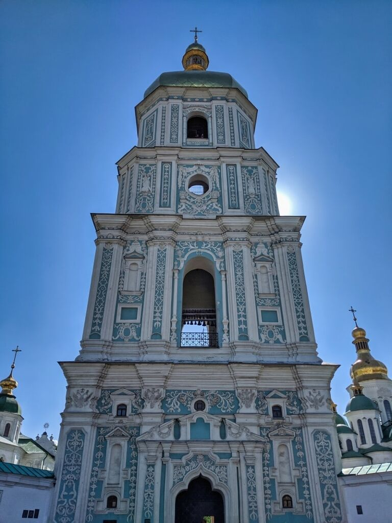 Bell Tower Of Saint Sophia's Cathedral Kyiv