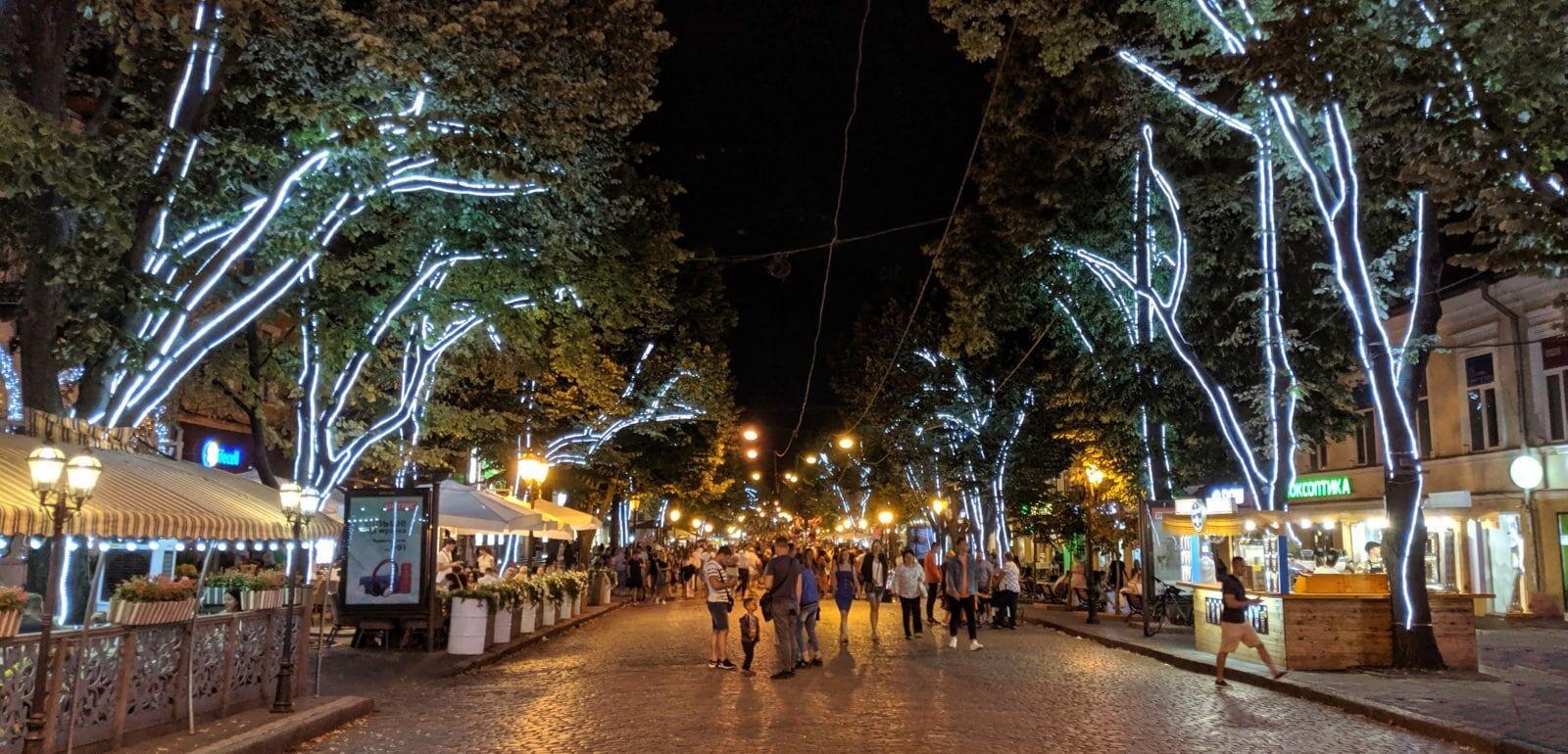 Derybasivska Street Odessa