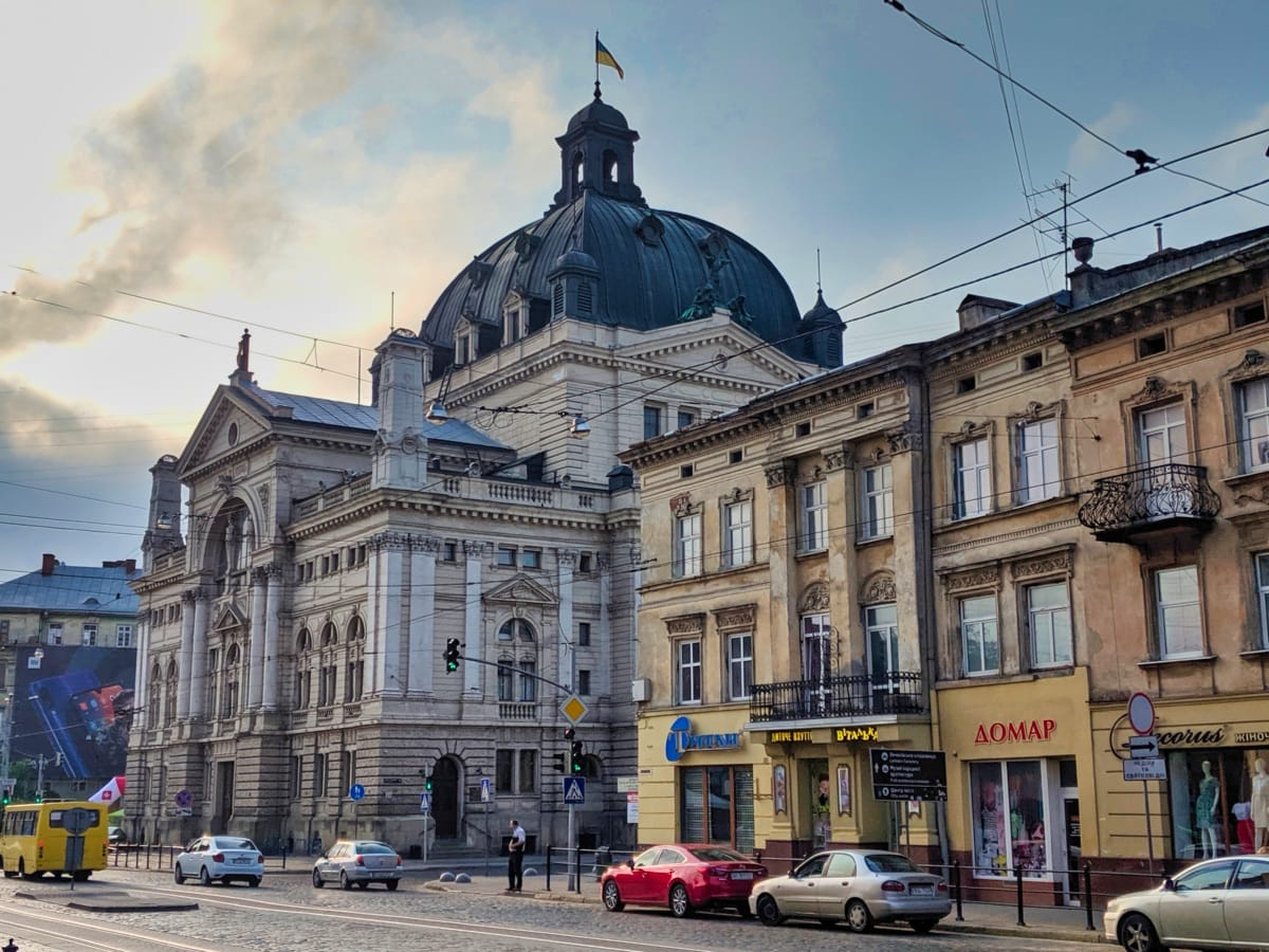 Lviv National Academic Opera And Ballet Theatre Named After Solomiya Krushelnytska