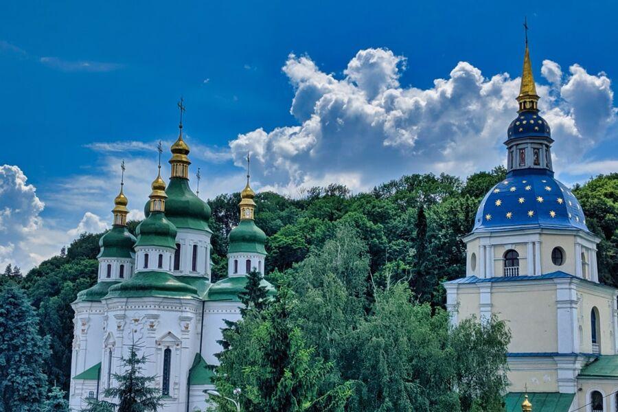 St Michaels Vydubytsky Mens Monastery Photo