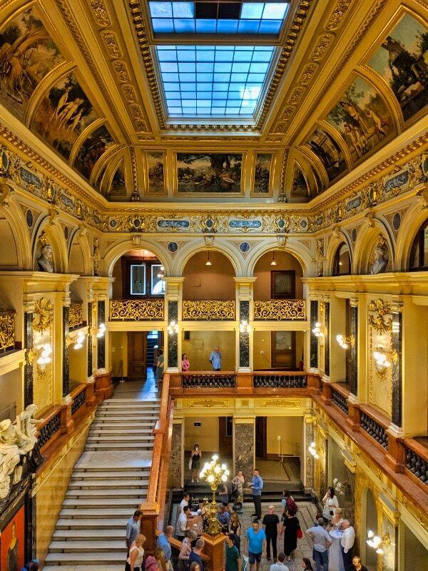 Interior Of Lviv Opera House Building