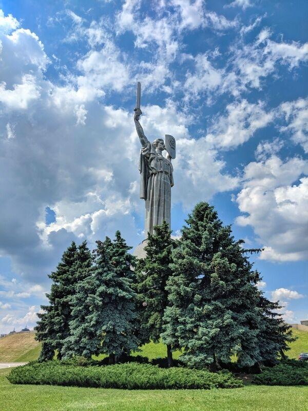 The Motherland Monument Kyiv