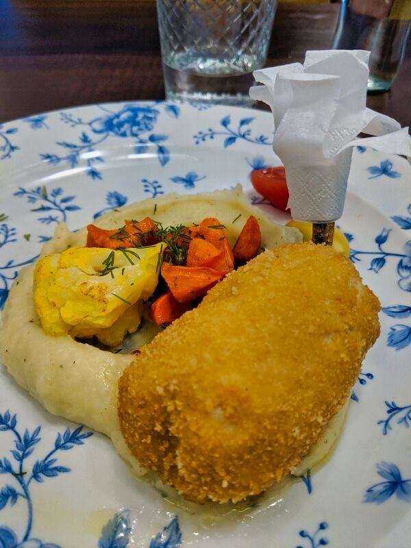 The Famous Chicken Kiev Dish