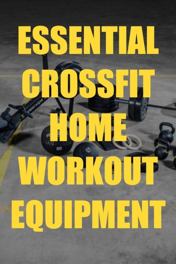 Essential Crossfit Home Workout Equipment Guide 1